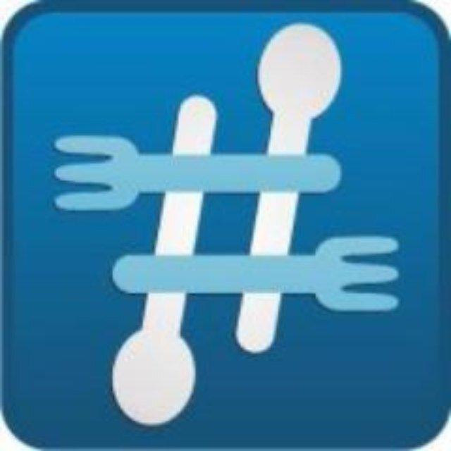 #Foodiechats logo