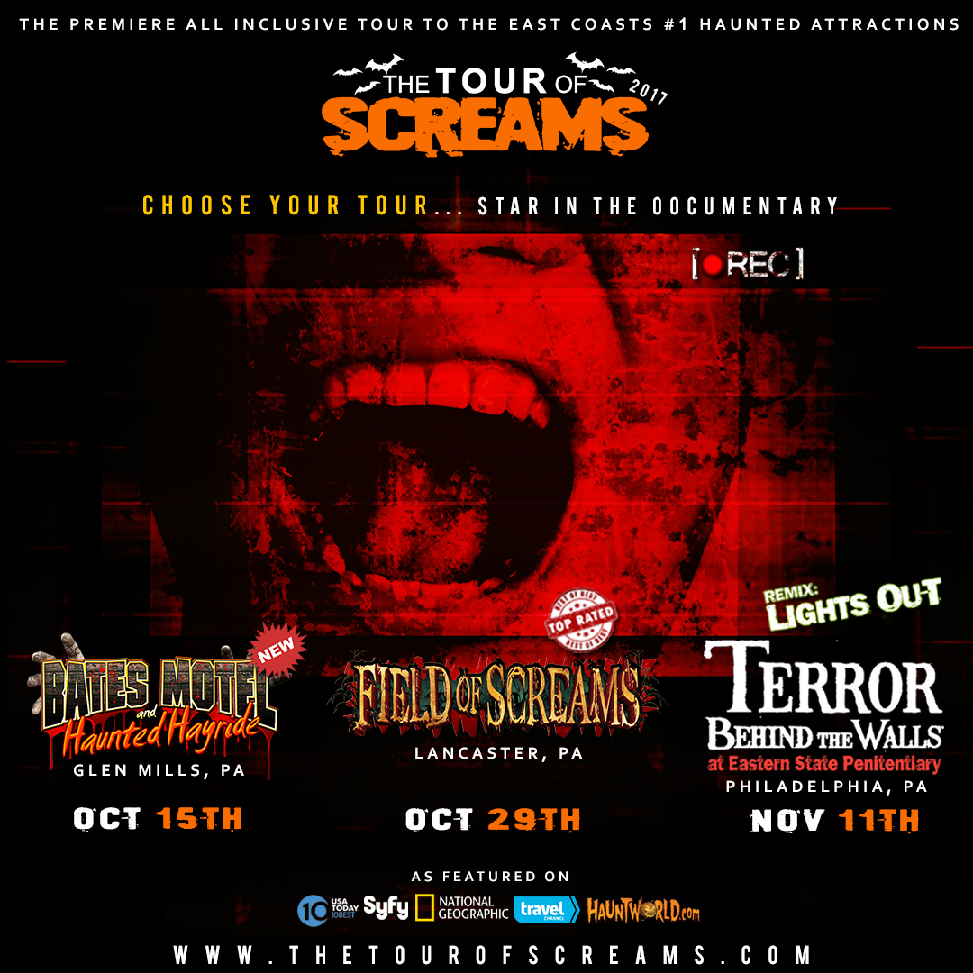 Visit Our Website At Thetourofscreams