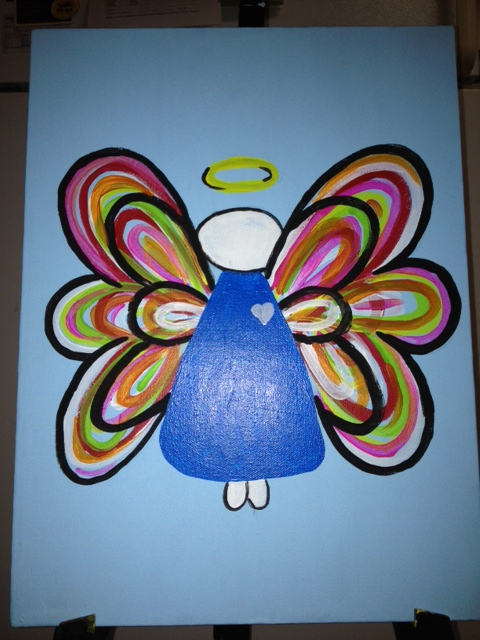 Painting for Canvases with a Cause