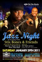 "Jazz Night at Paradise Theater Bronx NY starring ""Stix..."