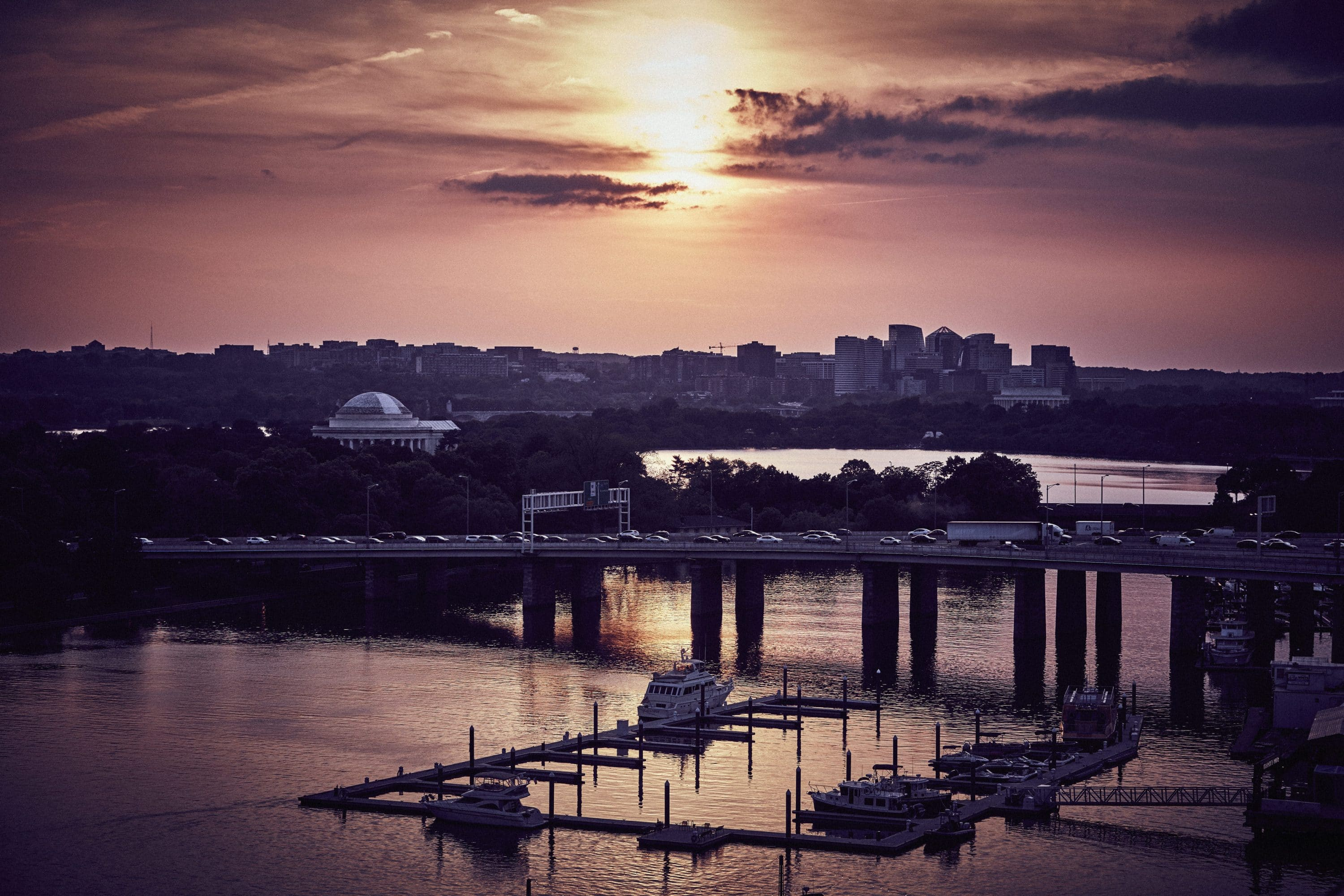 Sunset on the Potomac