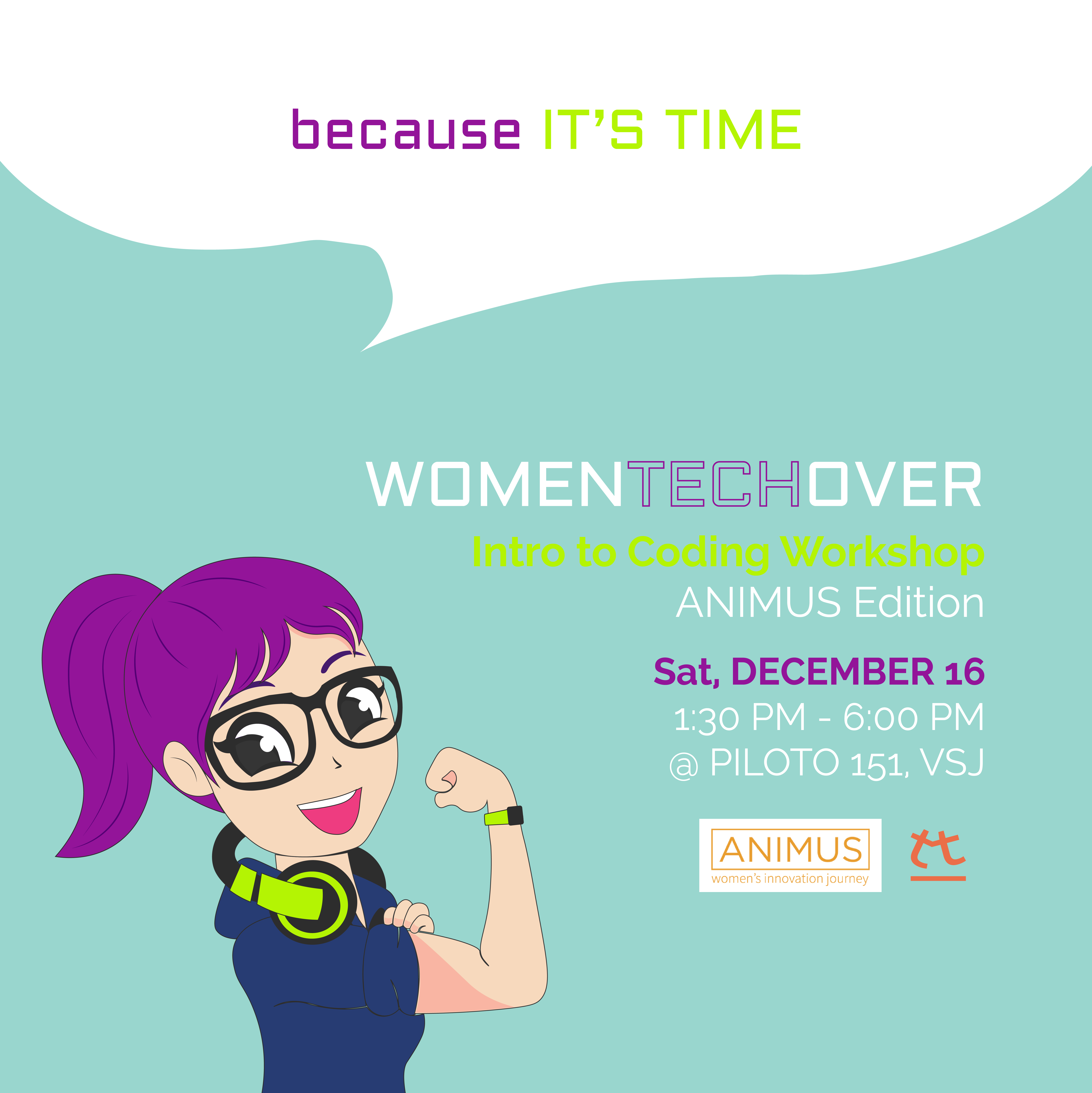 WomenTechOver Intro to Coding Workshop