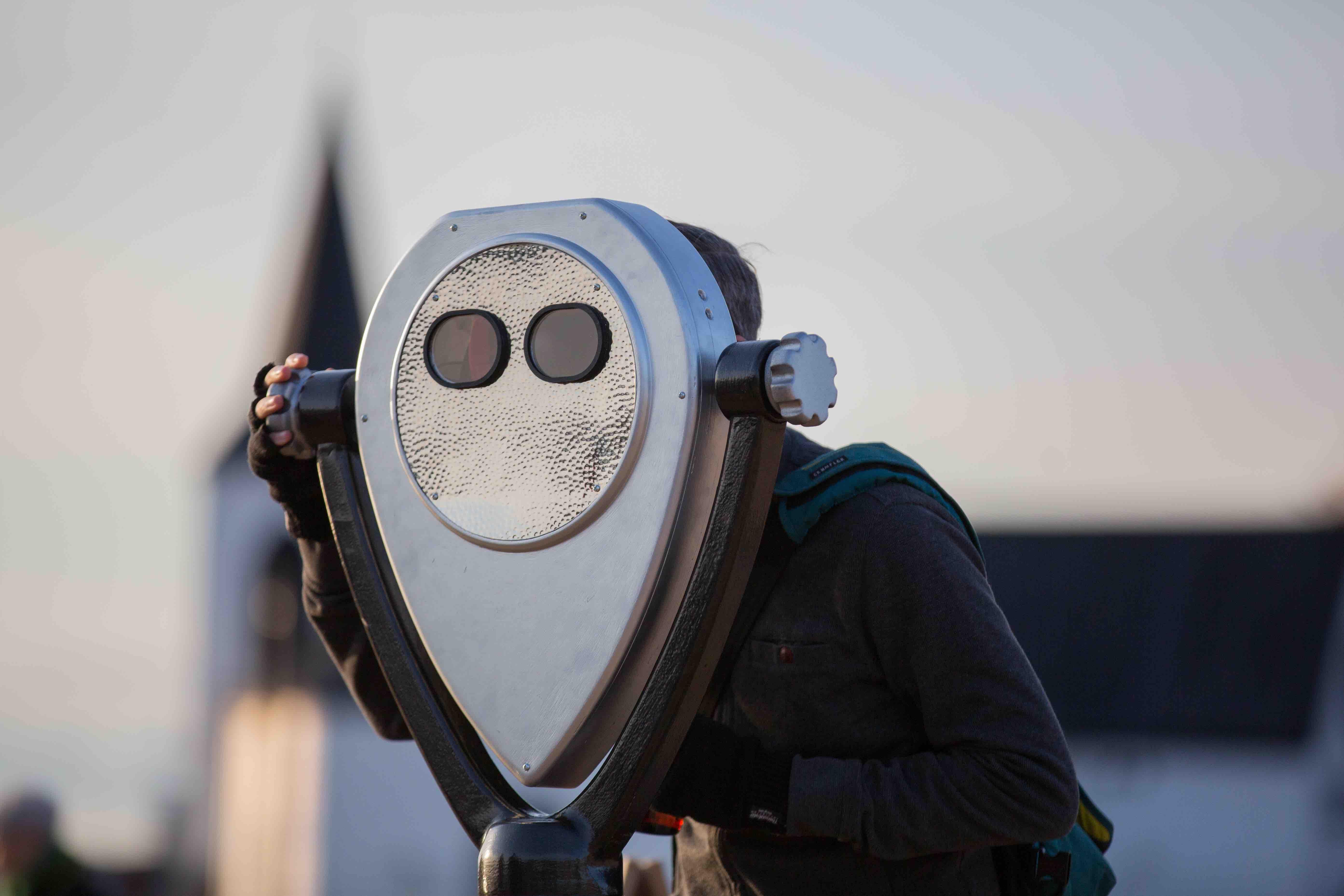 AR binoculars, image Paul Blakemore