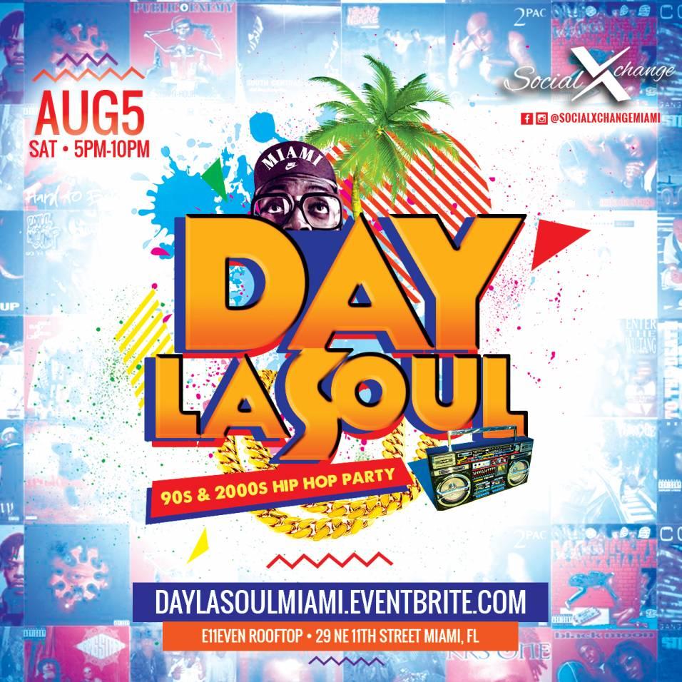 Day La Soul: 90s-2000s Hip Hop Dance Day Party Tickets, Sat, Aug 5 ...
