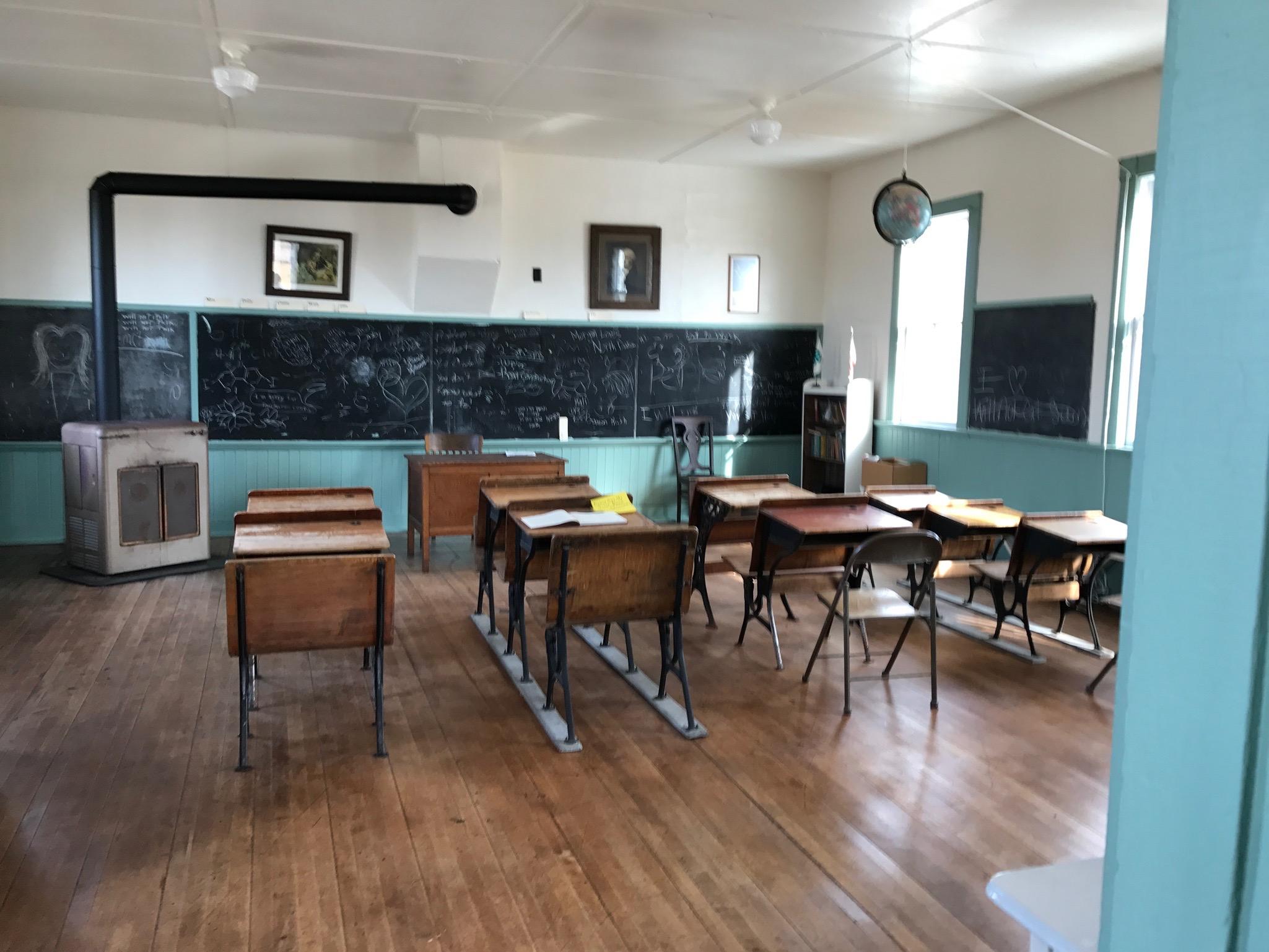 Inside Gill School