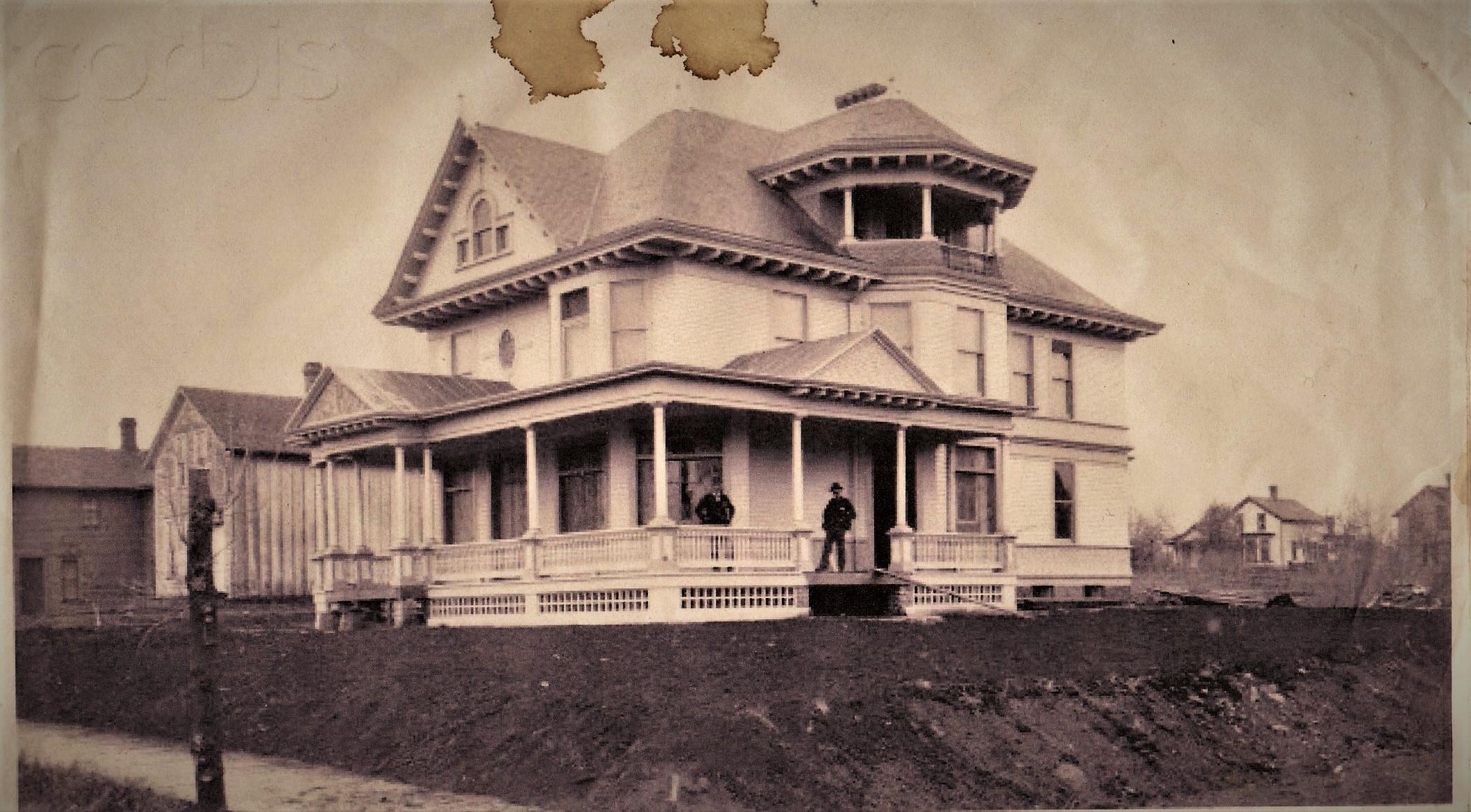 Historic photo of Kinzler House