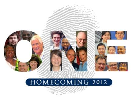 Homecoming 2012 ONE logo