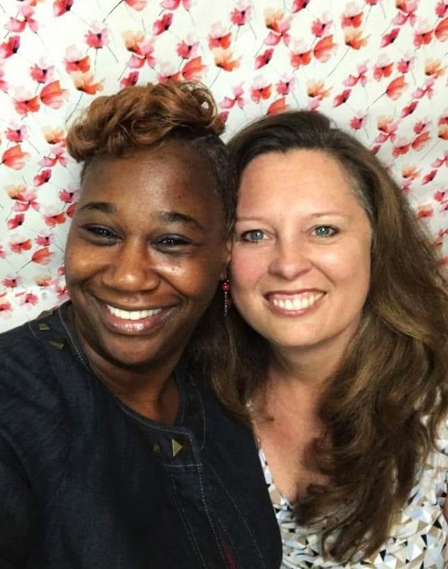 Angel Kelley and Michelle Falla