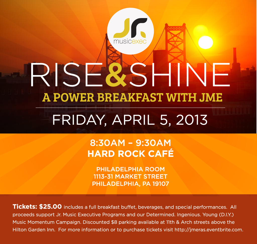 Rise and Shine JME