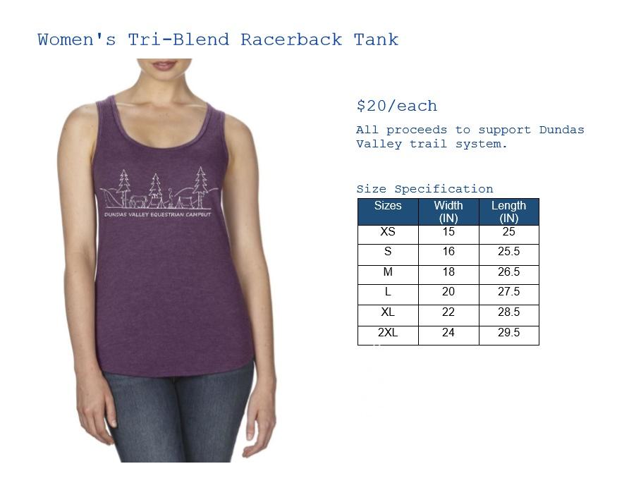 Women's Tri-Blend Racerback Tank