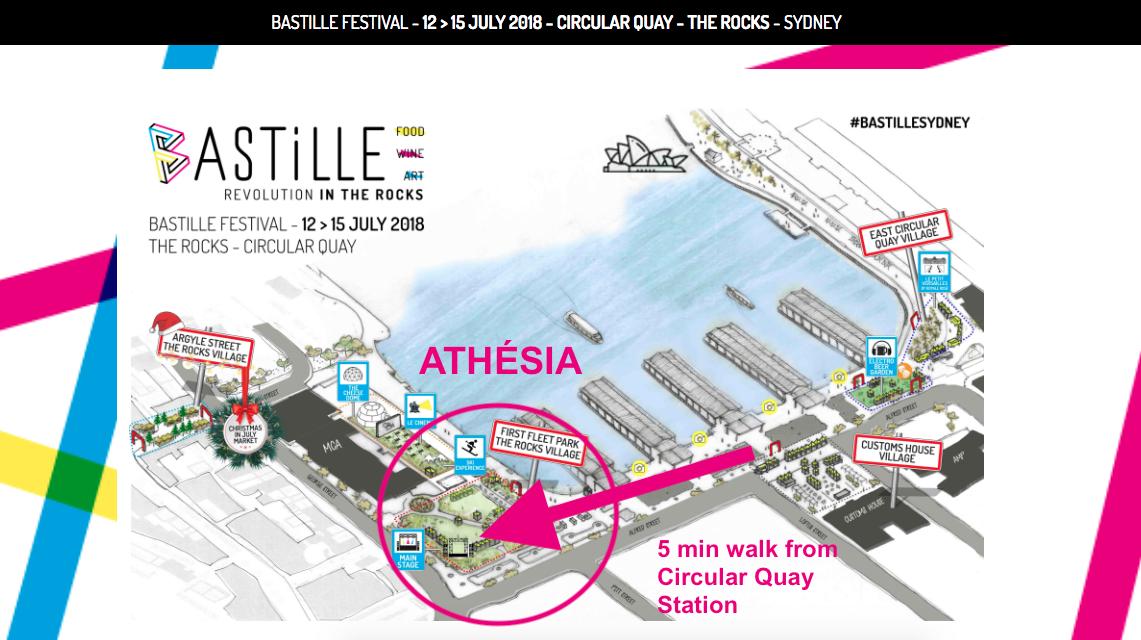 Athesia Free Show Map