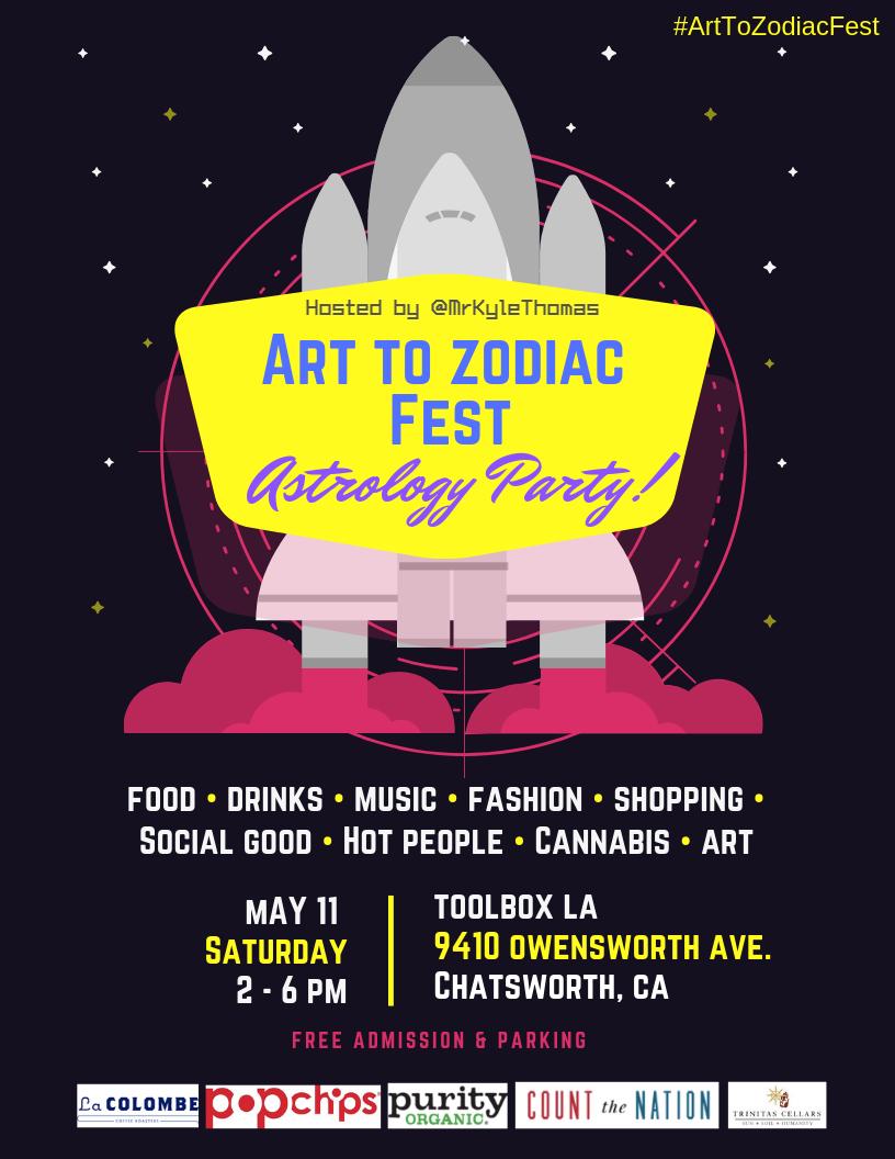 Art to Zodiac Fest: An Astrology Party!