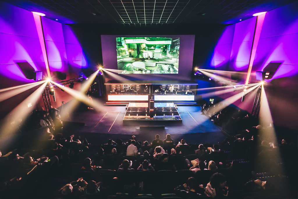 The Gfinity Arena in London is the UK's first dedicated eSports venue!