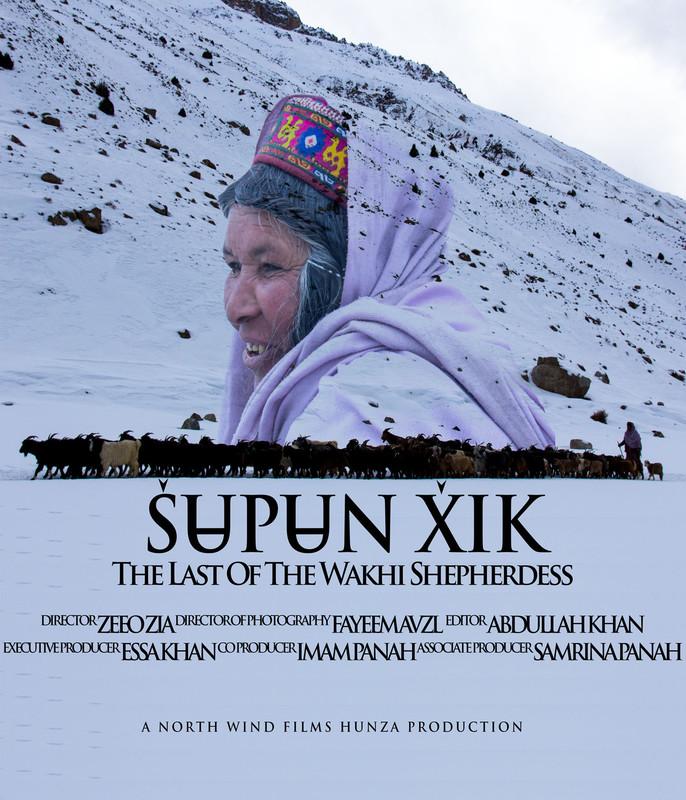 Wakhi sheperdess