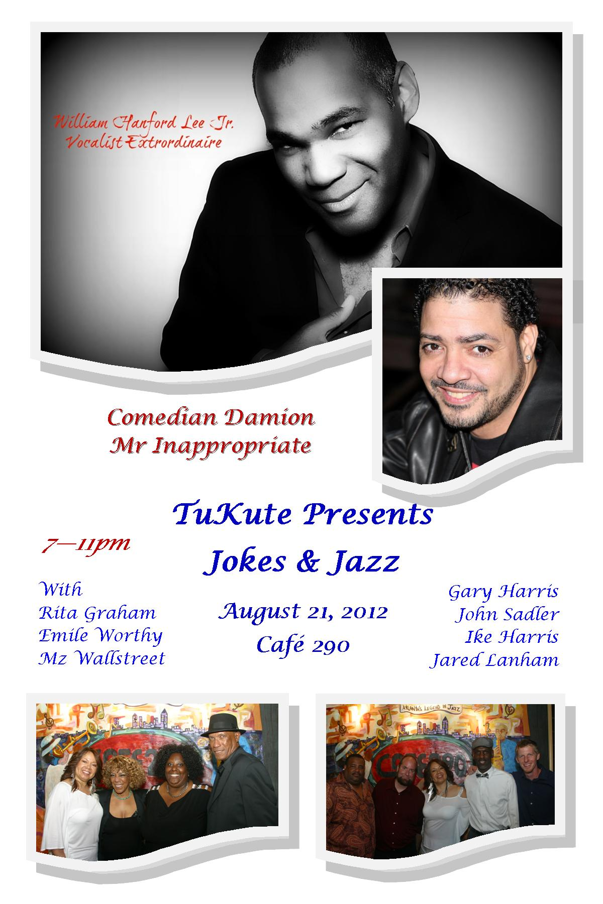 Jokes & Jazz in August