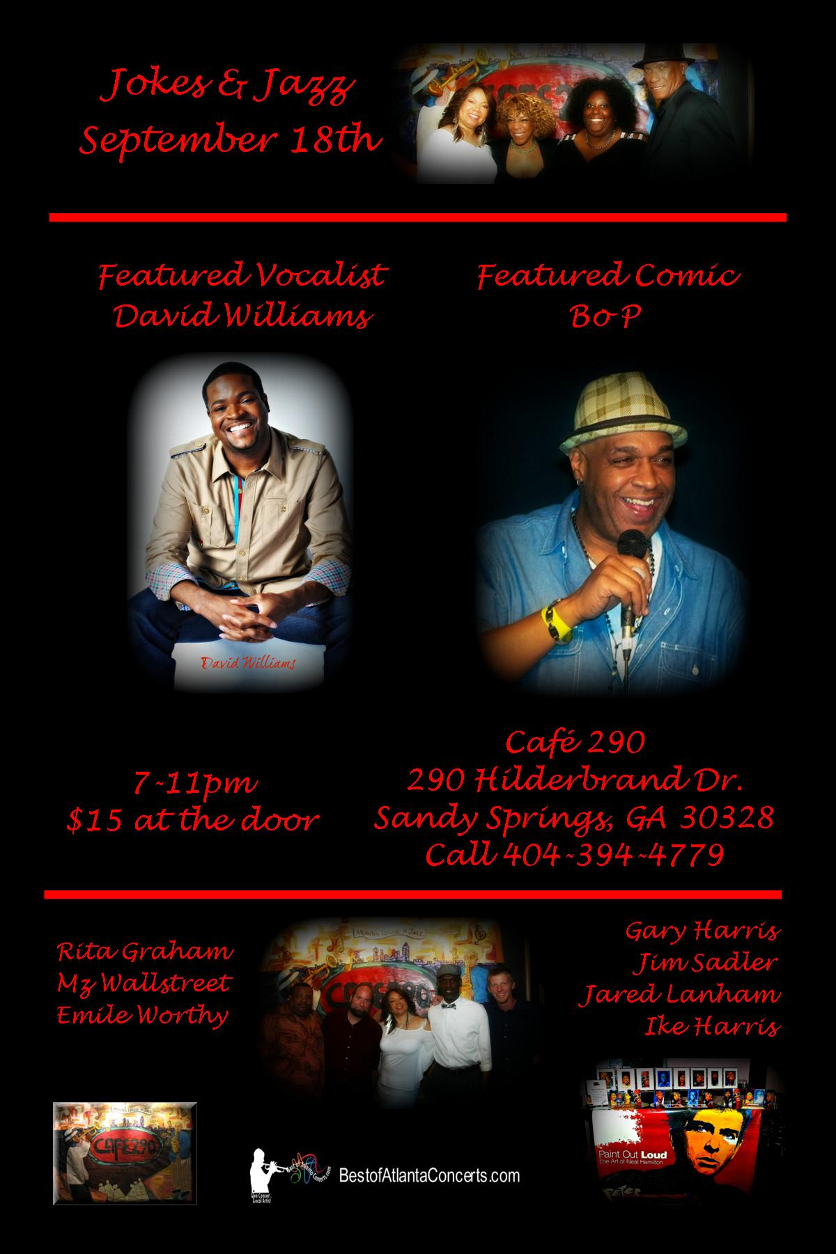 Jokes & Jazz September 18th