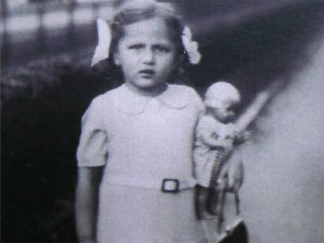 Ruth Barnett in Berlin, shortly before she  was brought to England in 1939