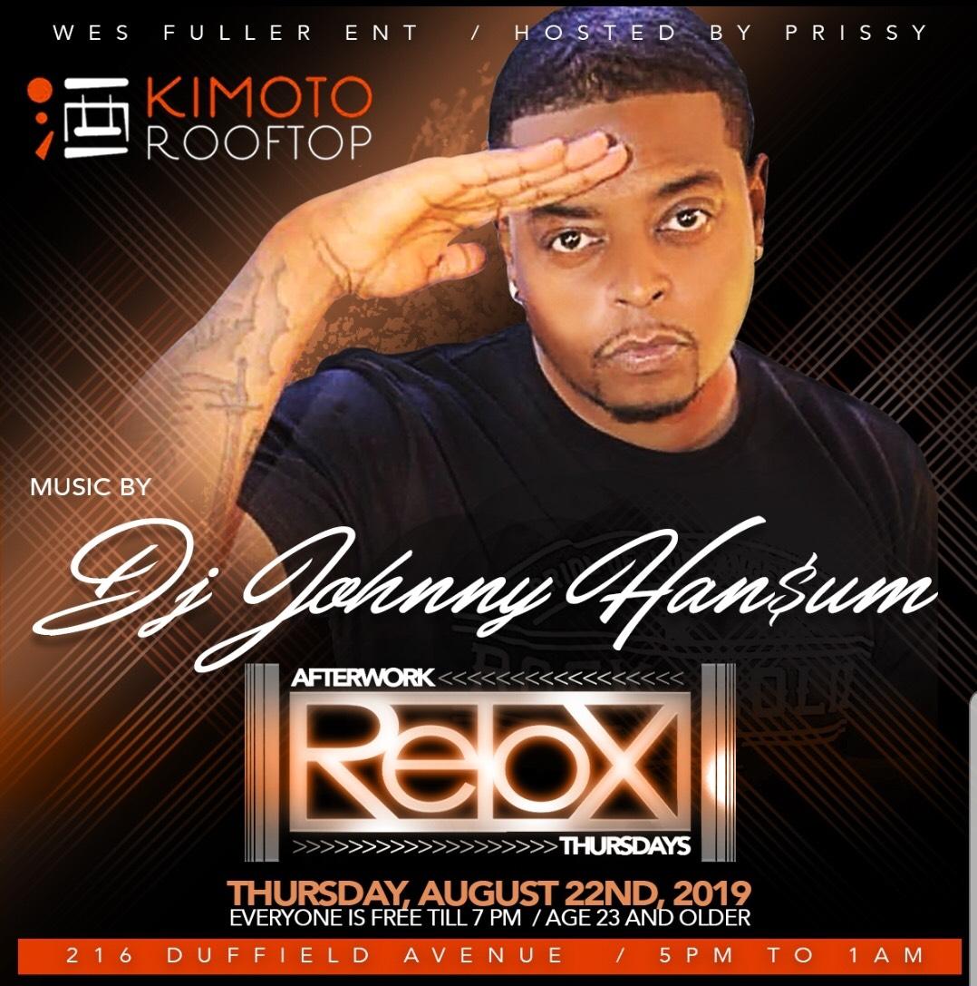 Retox Thursday Kimoto DJ