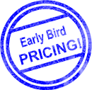 Early Bird Pricing Graphic