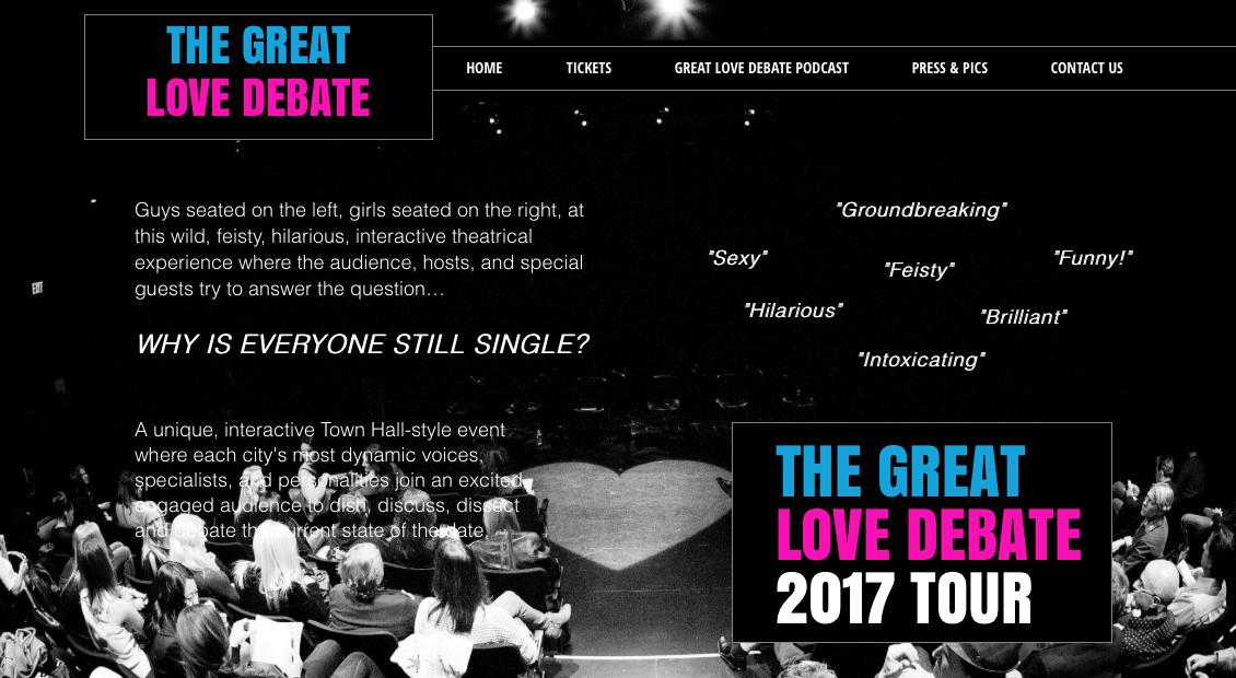 upcoming stir event great love debate