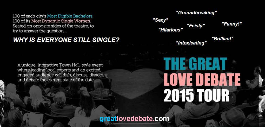 the love debate Questions about love and relationship to debate on state your views and check what others have to say too.