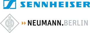 sennheiser Neumann logos