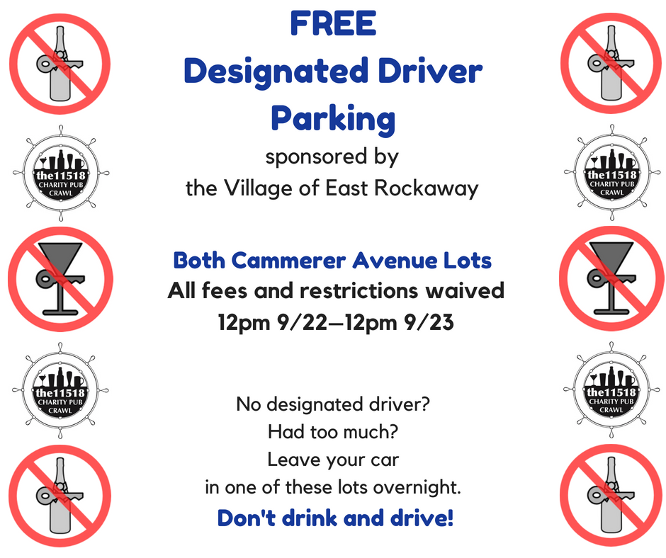 Designated Driver Parking Information