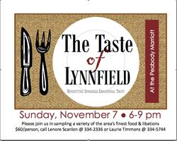 Taste of Lynnfield Logo
