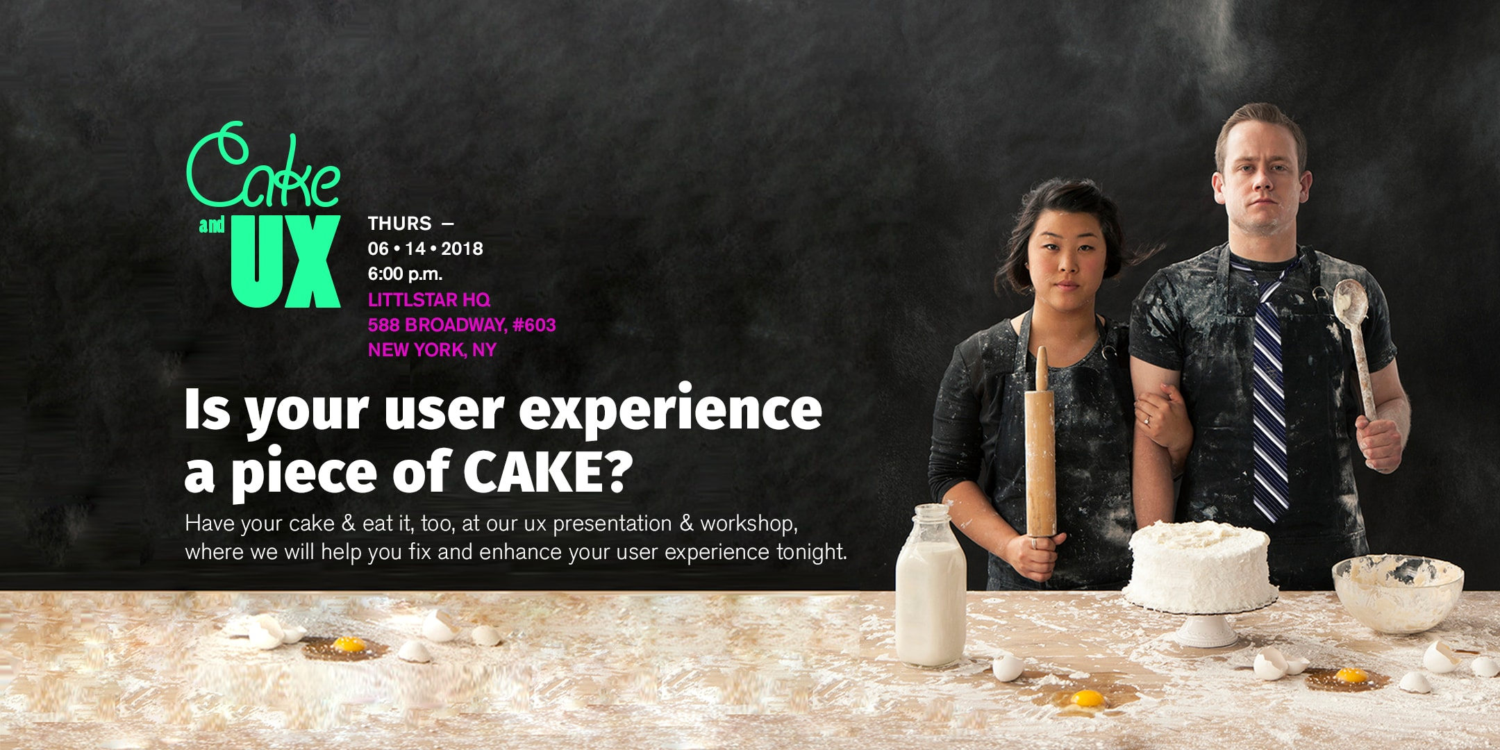 Cake and UX