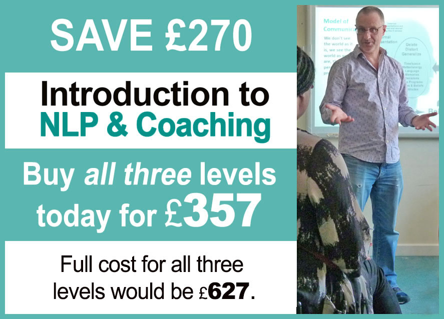 Special offer coaching course