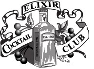 Elixir Cocktail Club logo
