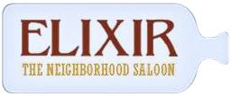 Elixir bottle logo