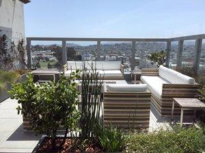 sky blue penthouse
