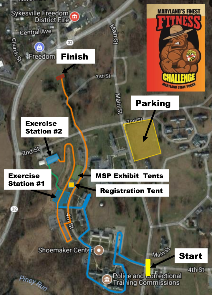MSP Course Map