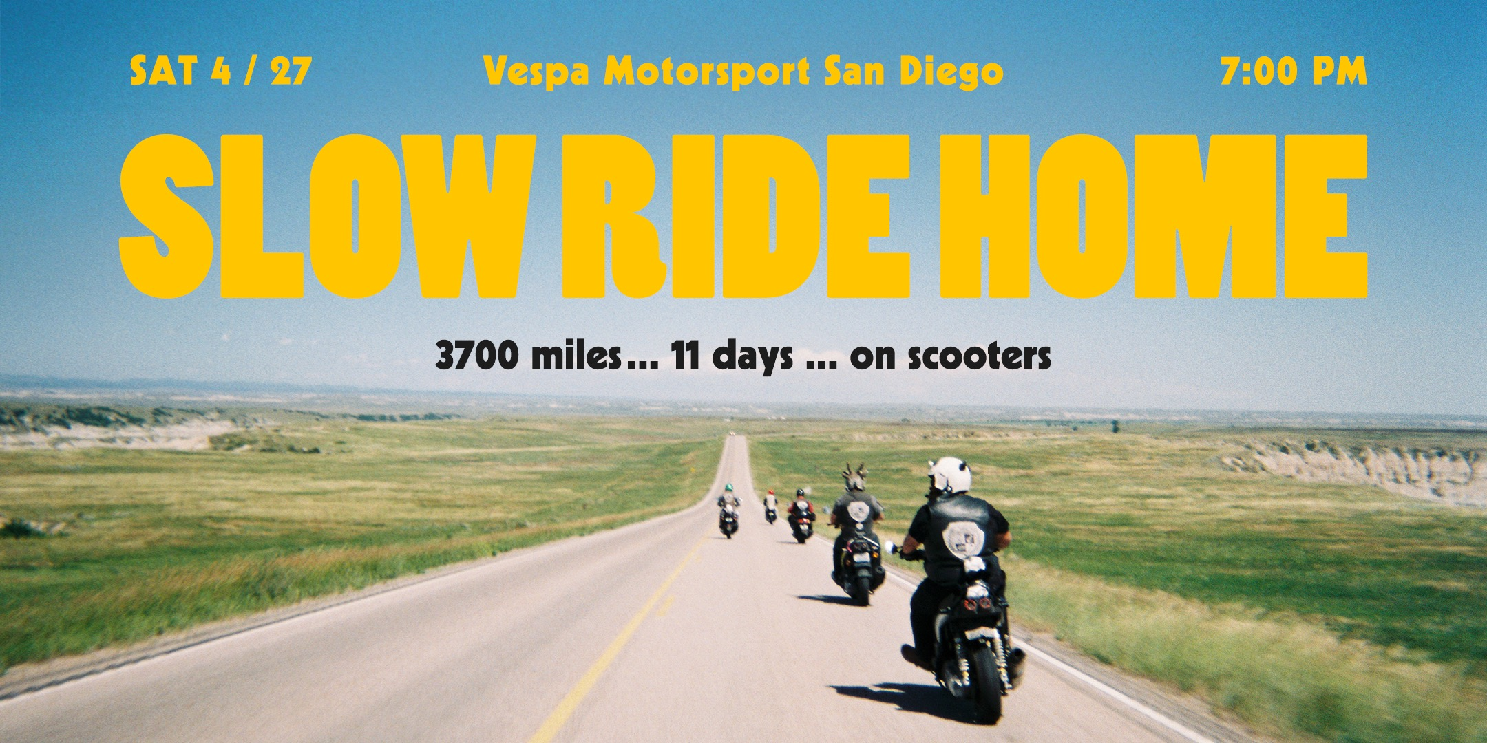Slow Ride Home Premiere