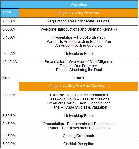 NACO Workshop Agenda