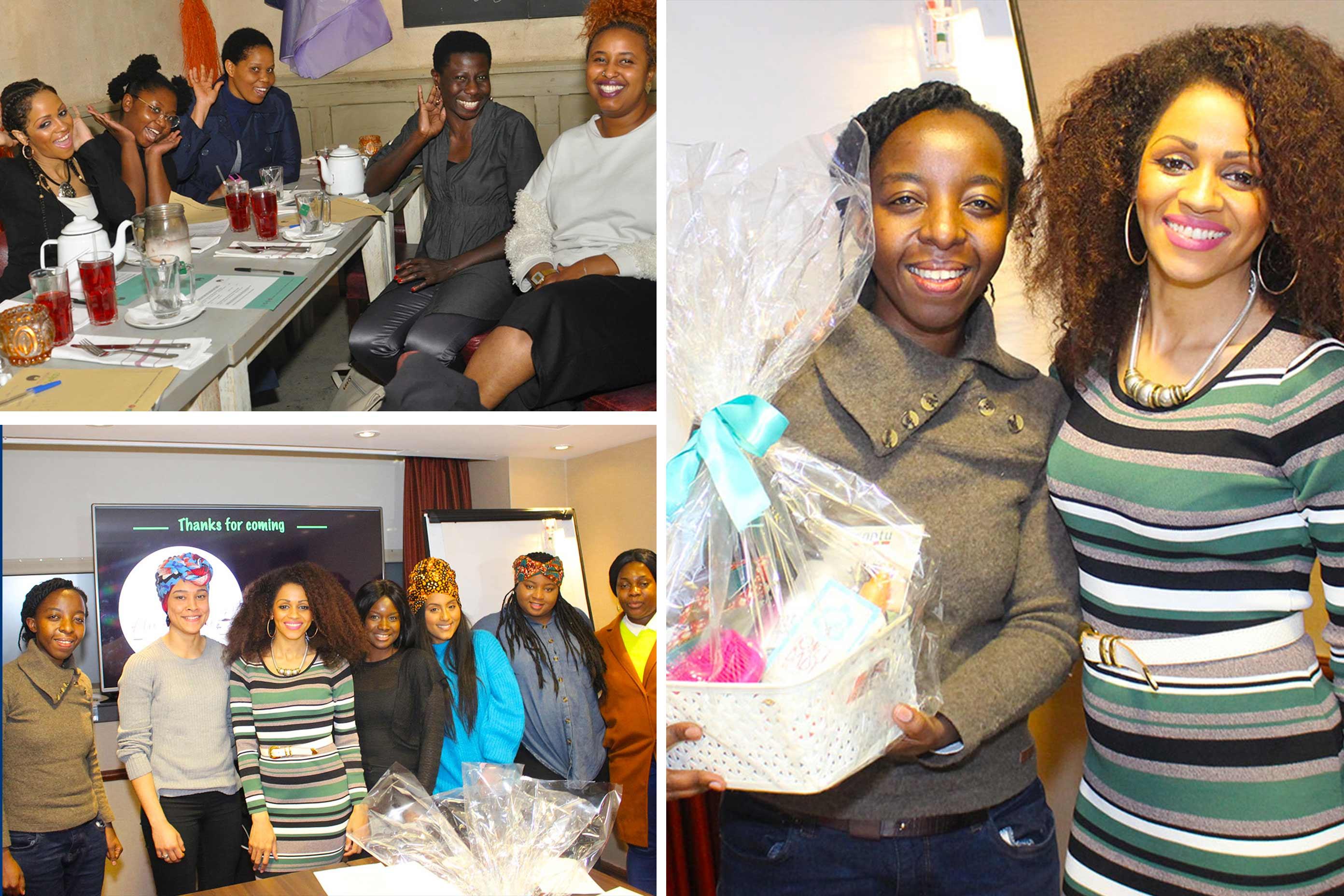 Afro Hair Cafe workshops
