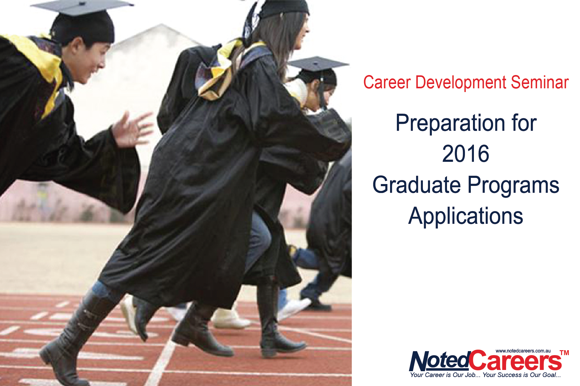 Preparation for 2016 graduate programs applications