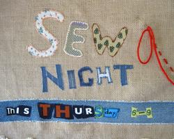 Sew Night - Free Community Sewing Group