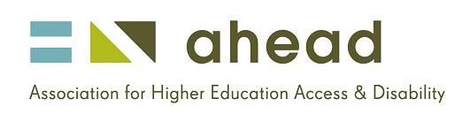 AHEAD Logo
