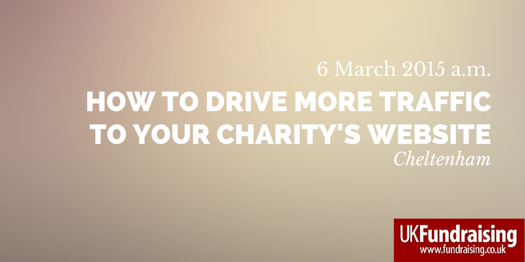 How to drive more traffic to your charity's website
