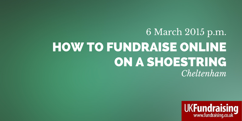 How to fundraise online on a shoestring