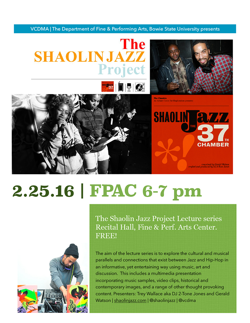 Shaolin Jazz at Bowie State University feb 25 2016