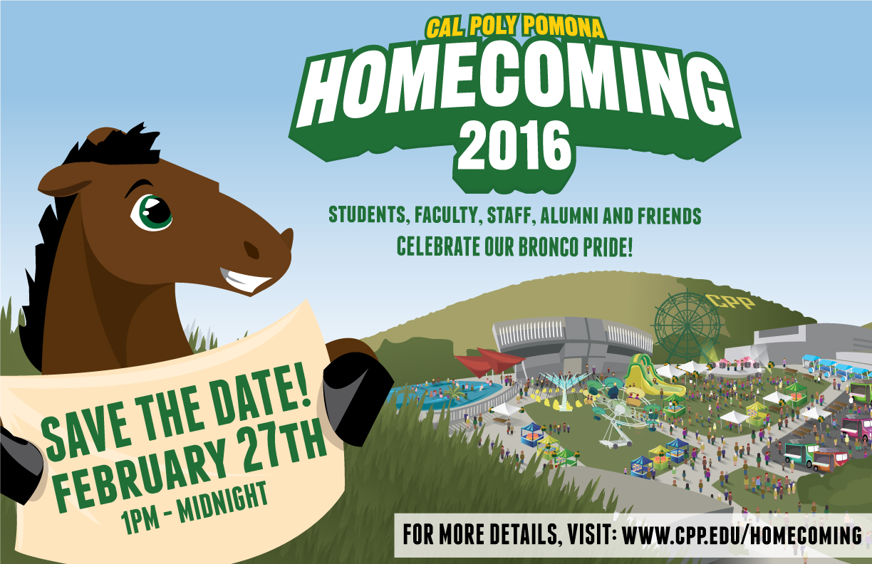 Homecoming 2016 Save the Date