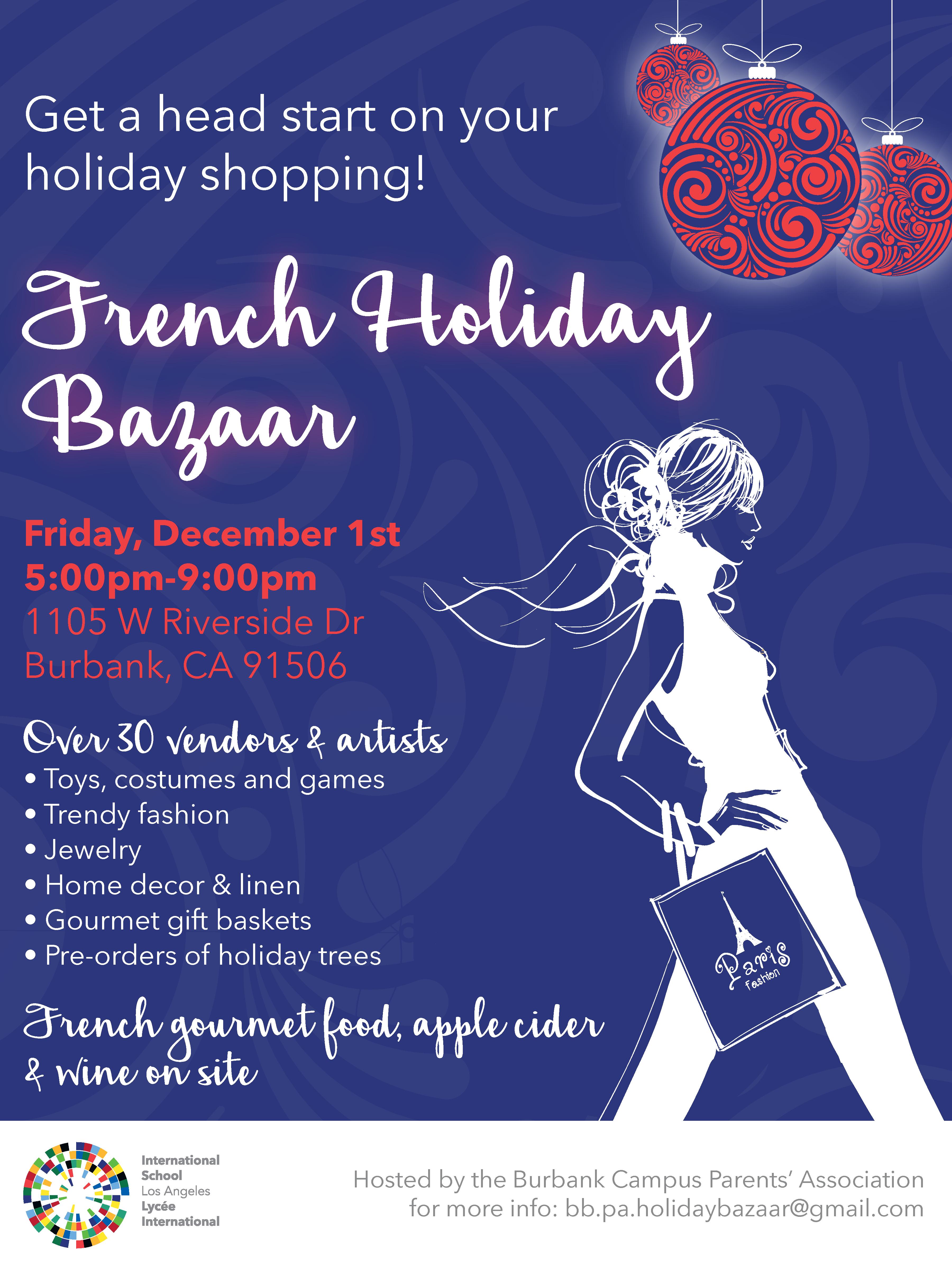 French Holiday Bazaar