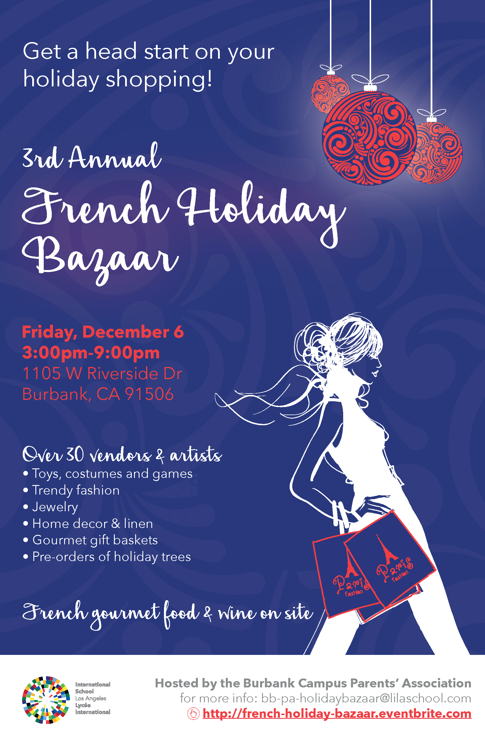 French Holiday Bazaar 2019