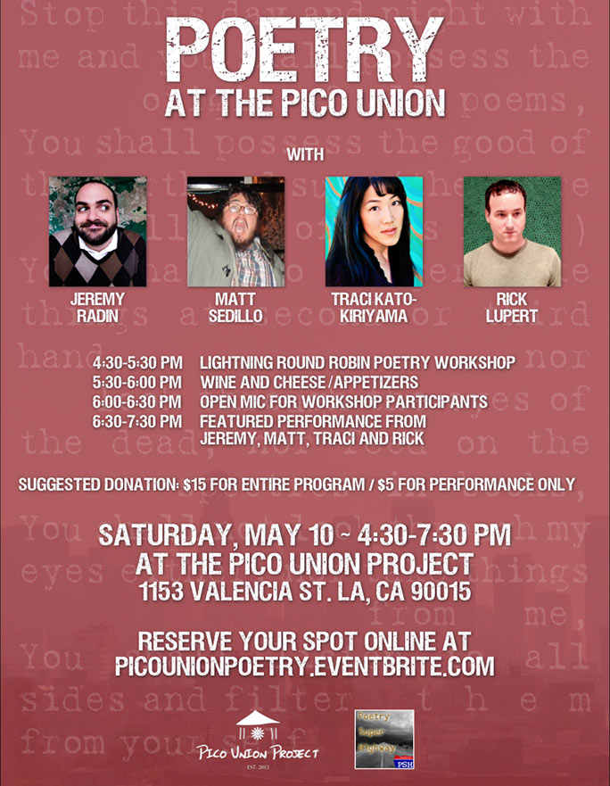 Poetry at the Pico Union