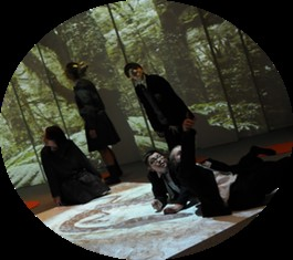Children within a 4D Immersive environment