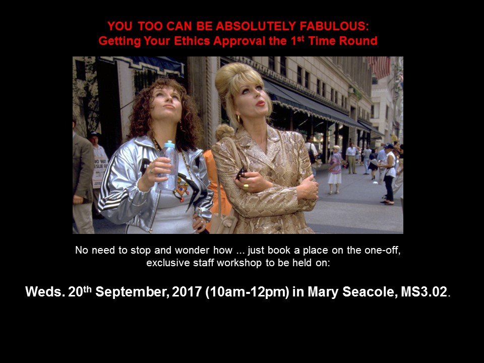 Absolutely Fabulous (Joanna Lumley & Jennifer Saunders)
