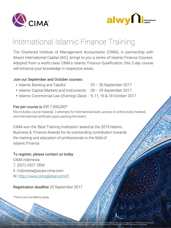 Islamic Finance Training